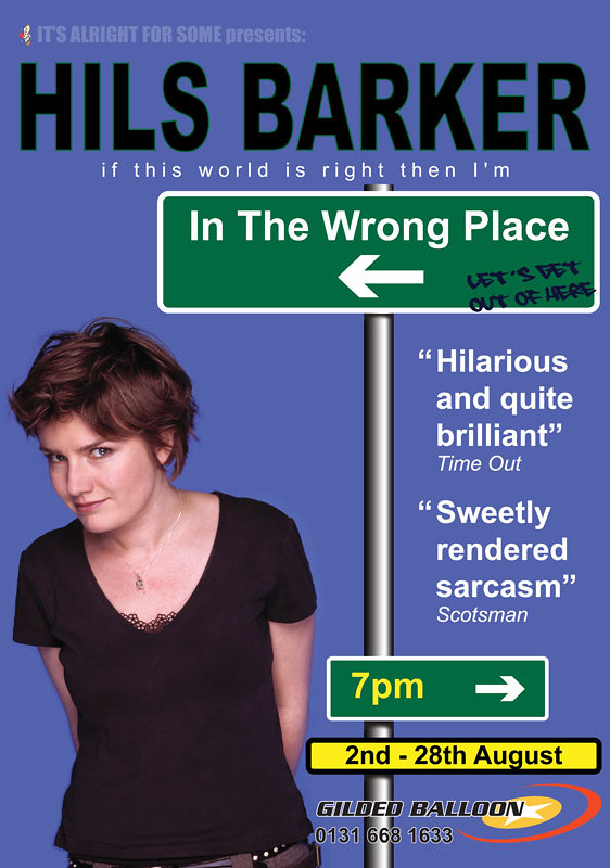 Hils Barker: In the Wrong Place