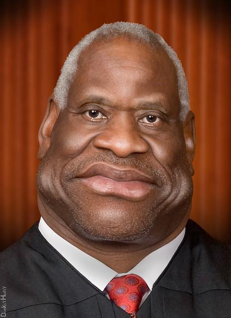 United States Supreme >> Clarence Thomas - Caricature | Flickr - Photo Sharing!