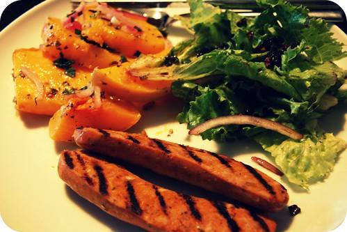 sunday dinner plate