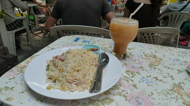 Breakfast in Gecko Bar, Soi Rambuttri
