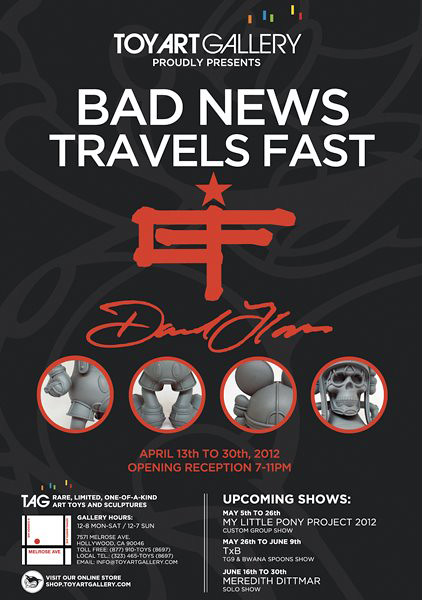 David Flores Bad News Travels Fast at TAG