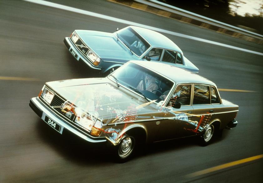 Volvo 244 GLE, 1979 £