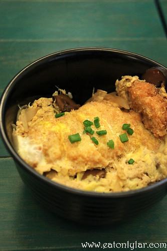 Chicken Katsu Don, Poco Homemade, Café & Atelier