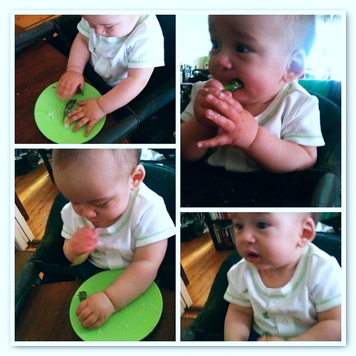 First Foods: Asparagus!