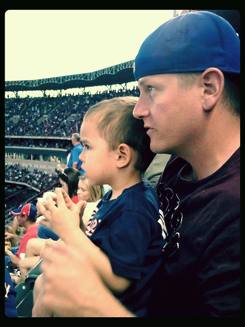 G's First Texas Rangers Game