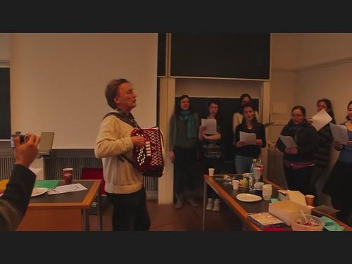 Gesangspart des Schwedisch Unterrichts