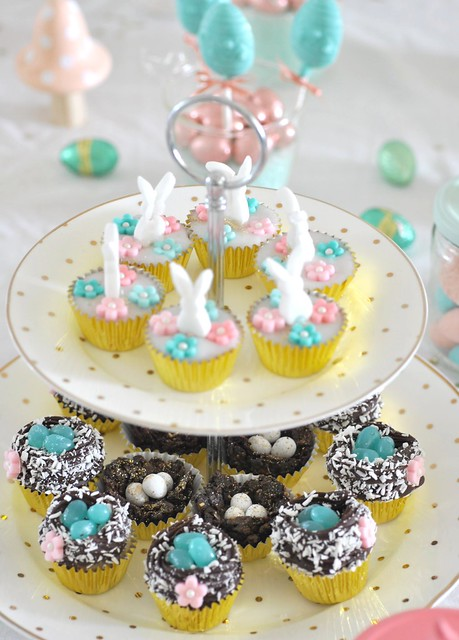 Easter chocolate nests