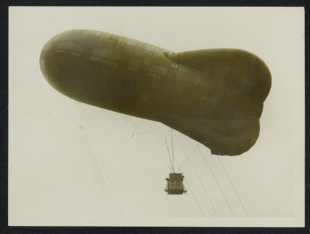 Luchtballon WO I / Observation balloon WW I