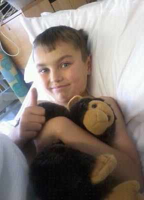 , Danny turns nine!  His birth story…