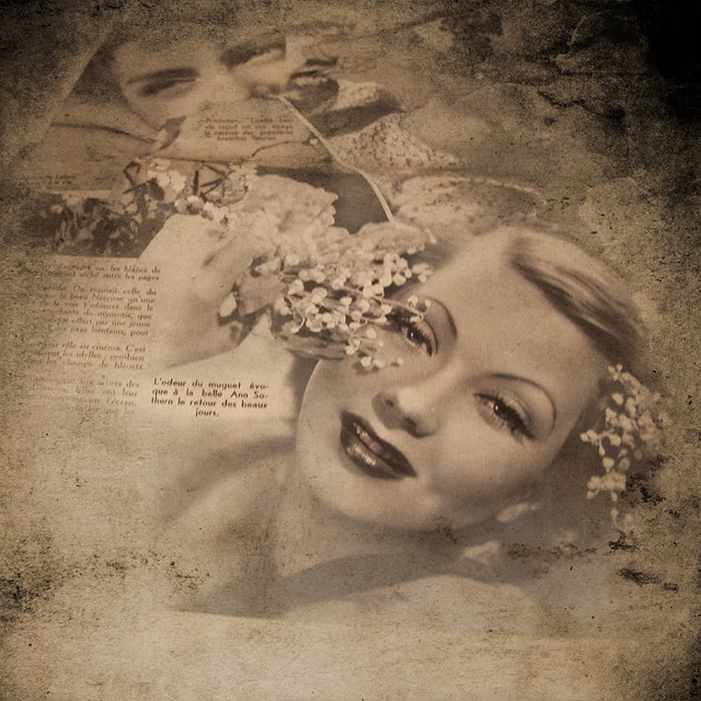 """Project Flickr - week 16: """"Framing"""" Vintage Magazine"""