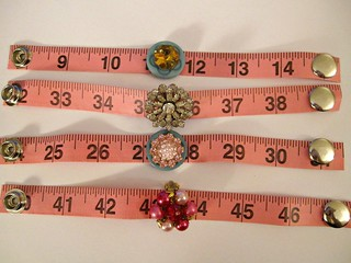 Pink Tape Measure Bracelets! 14
