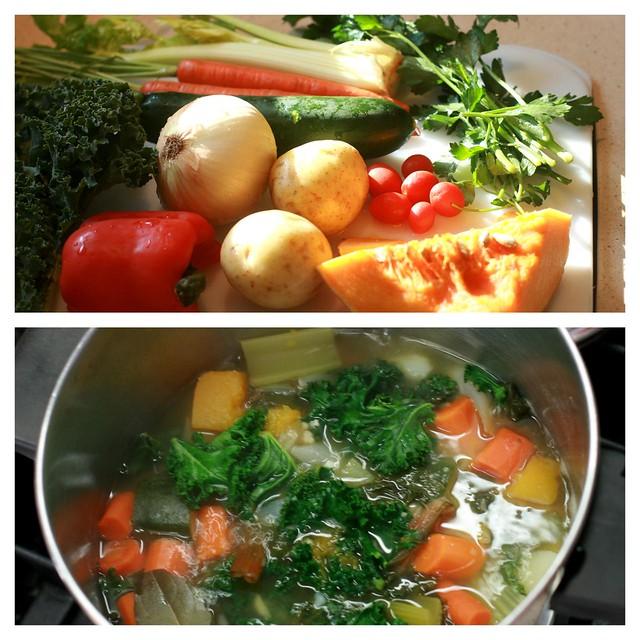 Passato di verdure (Cream of Vegetable Soup)