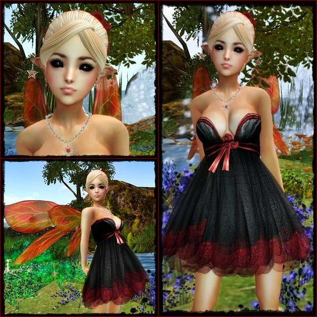 *Solange!* Petite Holiday Floral - MELON
