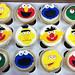 Sesame Street Cupcakes - <span>www.cupcakebite.com</span>