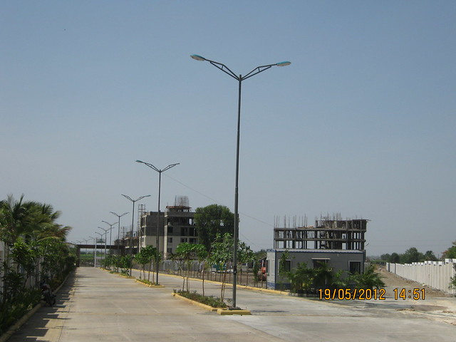 Entrance of Kanchan Vrundavan - Visit Kanchan Vrundavan, 1 BHK & 2 BHK Flats at Koregaon Mul, near Uruli Kanchan Pune 412202