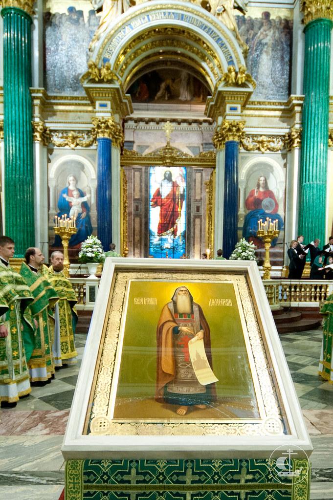 12 июня 2012, Божественная Литургия в Исаакиевском соборе