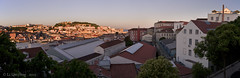 """Lisbon panorama taken from """"Mirador de San Pedro de Alcantara"""""""
