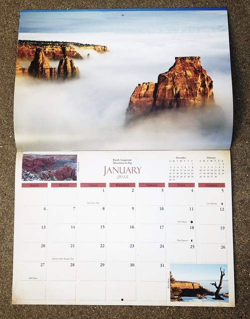 2013 Colorado National Monument Calendar