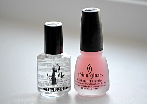 Seche Vite,China Glaze Calcium Gel Fortifier