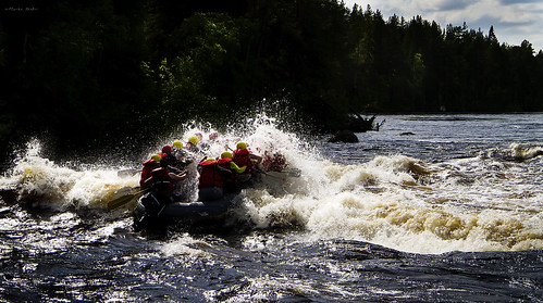 Riding with the rapids