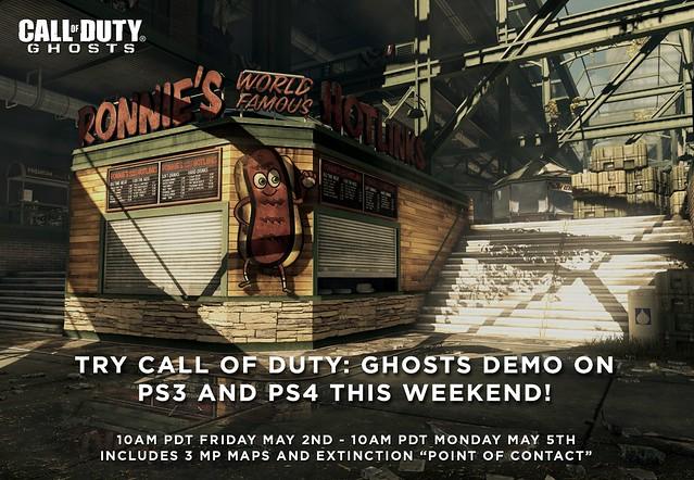 Call of Duty: Ghosts Multiplayer Weekend