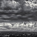 Storm over Santa Fe, NM by GFFPhoto