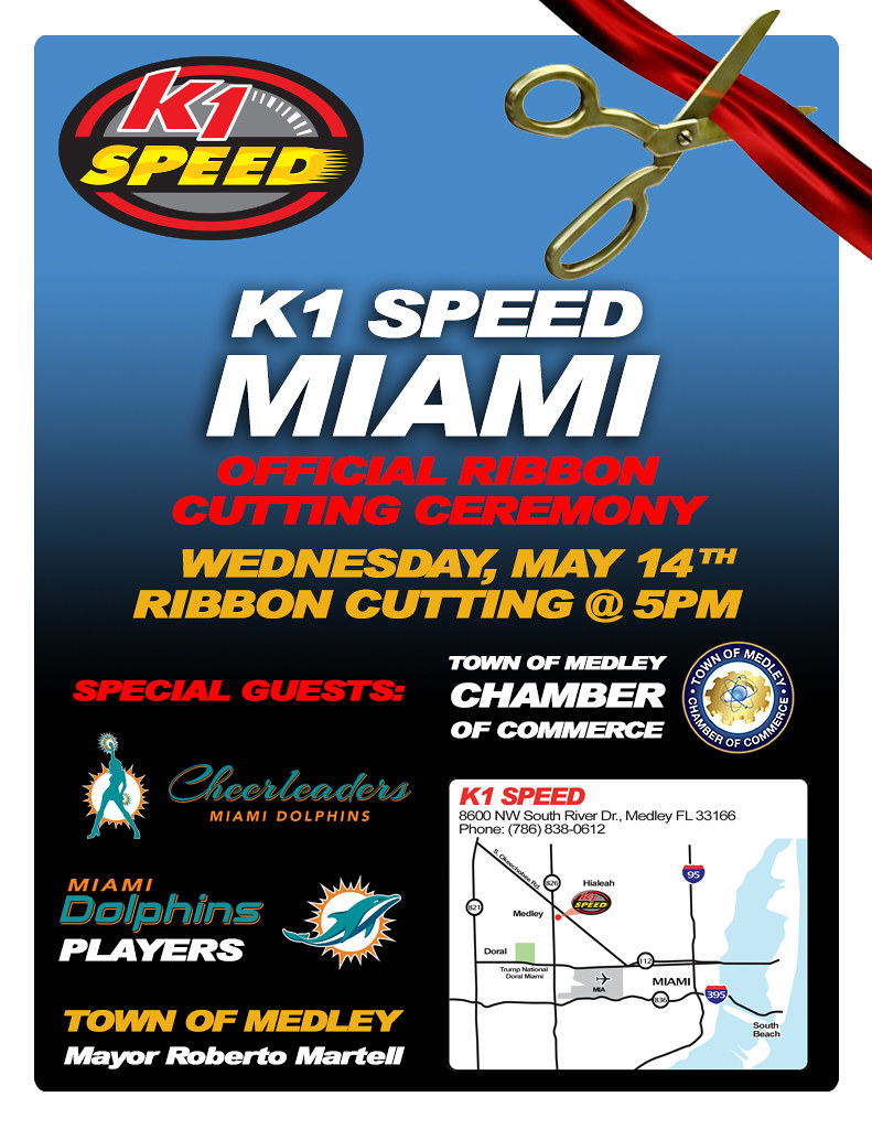 14130443512 ece76cd2af b K1 SPEED MIAMI    RIBBON CUTTING CEREMONY