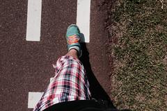 スロージョグダイエット1日目「疲れたら歩いていいんだよ」
