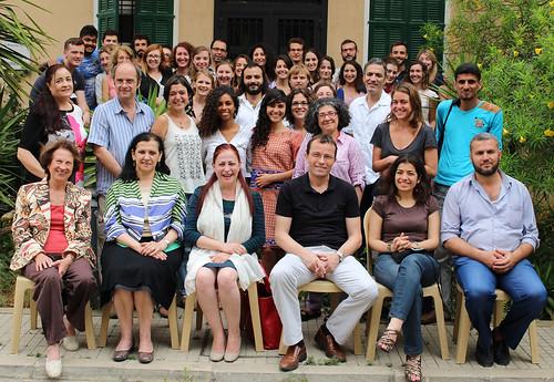 Stagiaires de langue arabe de l'Ifpo, session annuelle 2013-2014, Beyrouth