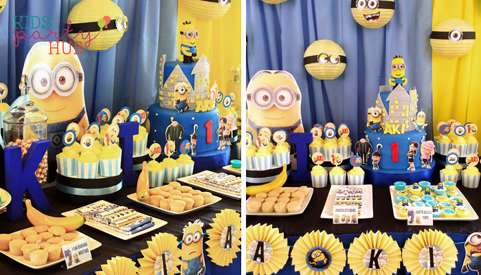 Minions Party Decoration Ideas