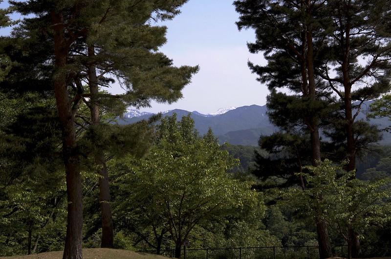 白山撮影スポットを訪ねて 奥卯辰山健民公園