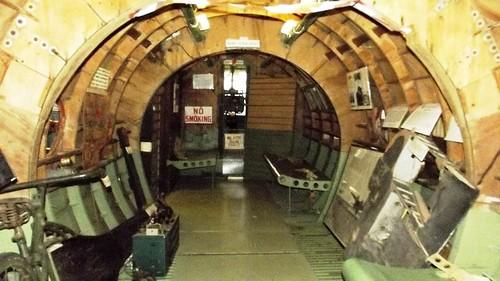 Inside a Horsa Glider