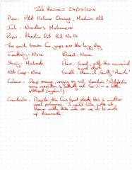 Ink Review Noodler's Habanero - Rhodia Dot Pat