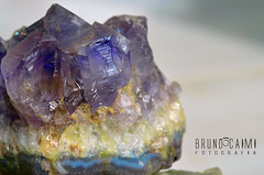 amethyst, yellow, mineral, macro photography, gemstone, crystal,