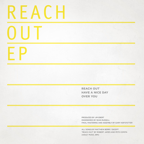 Reach Out EP // Back Cover