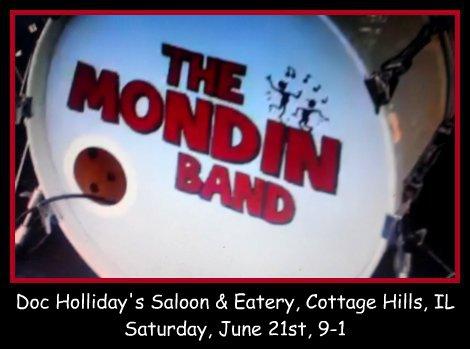 MONDIN BAND 6-21-14