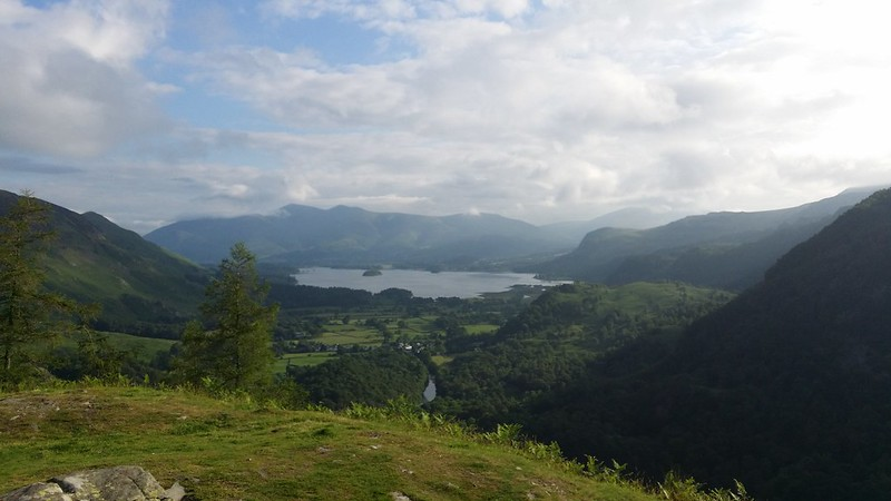 Derwentwater from Castle Crag on the #10in10