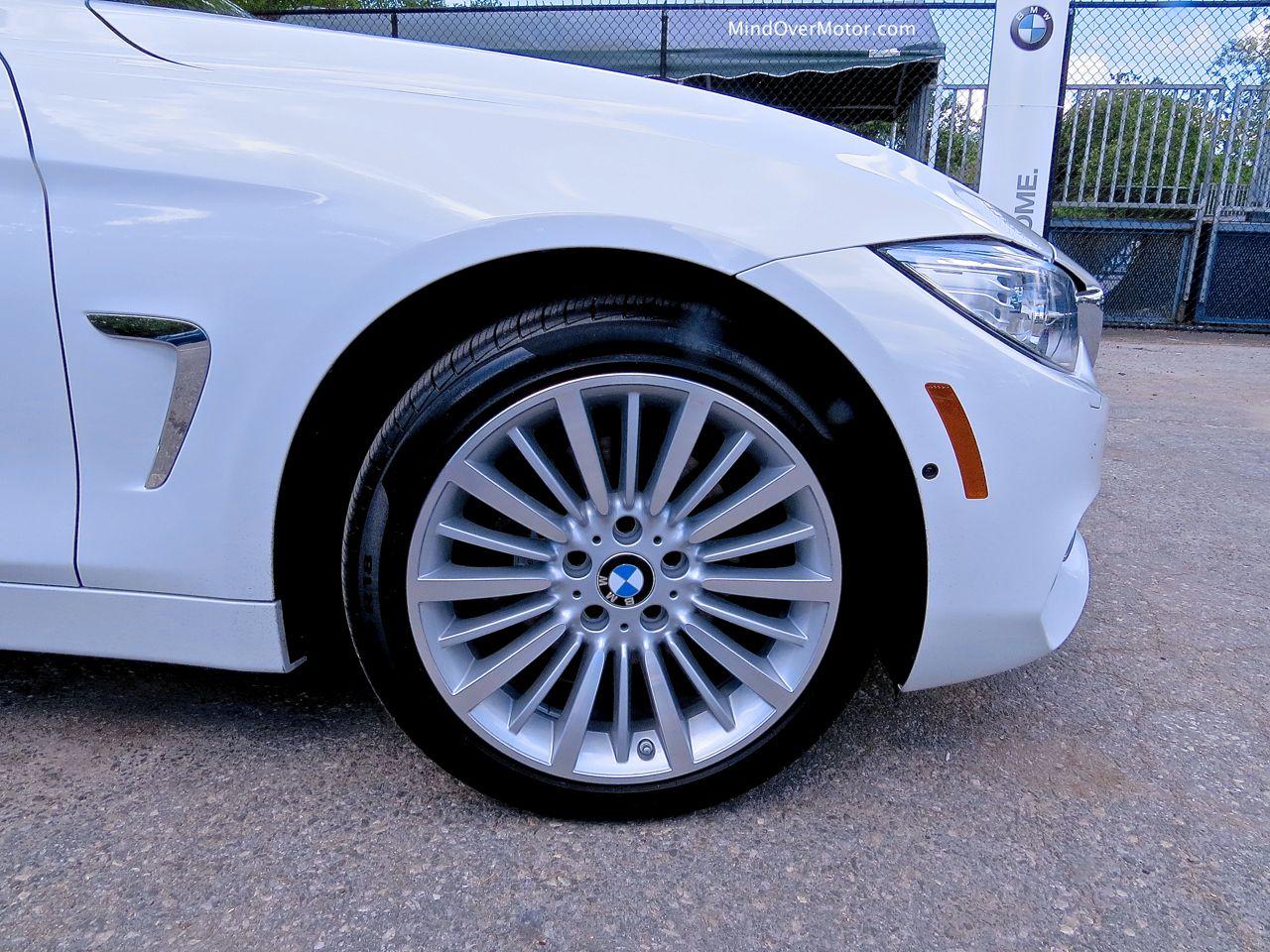 BMW 428i Front Fender