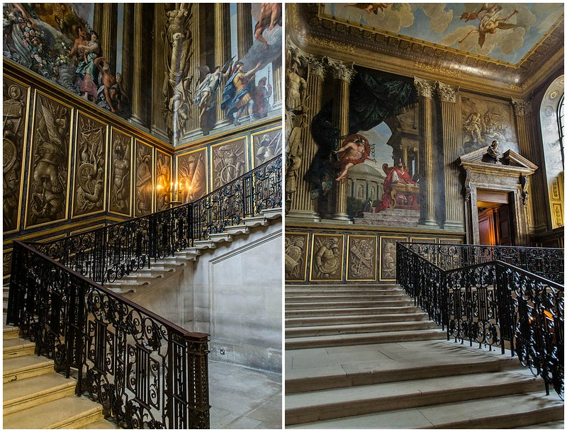 Staircase, Hampton Court Palace. Credit MrsEllacott