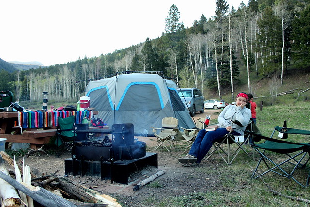 camping in the pecos