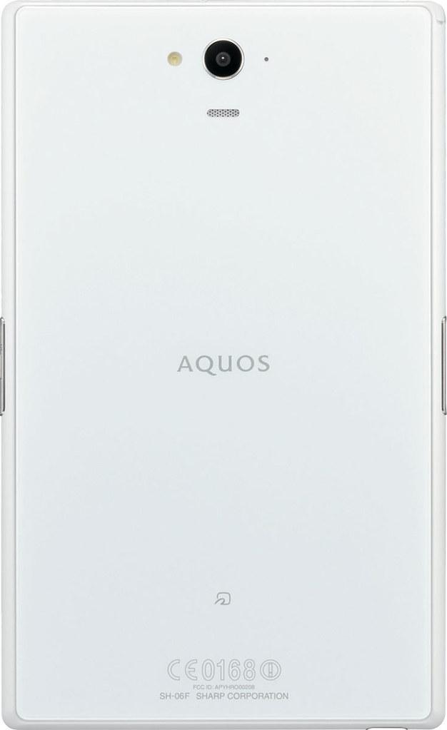 AQUOS PAD SH-06F 実物大の製品画像2