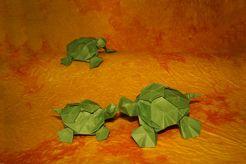 Origami Turtle (Romain Chevrier)