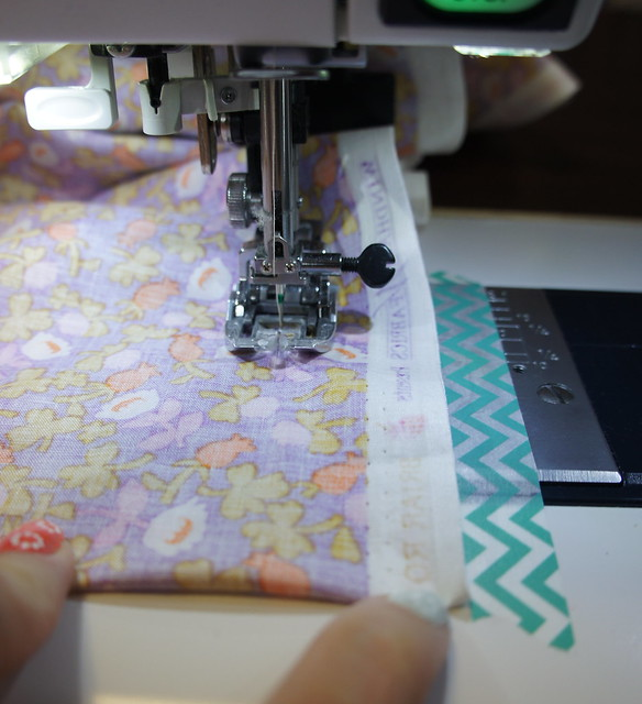 Quick Tip for Quilt Backings
