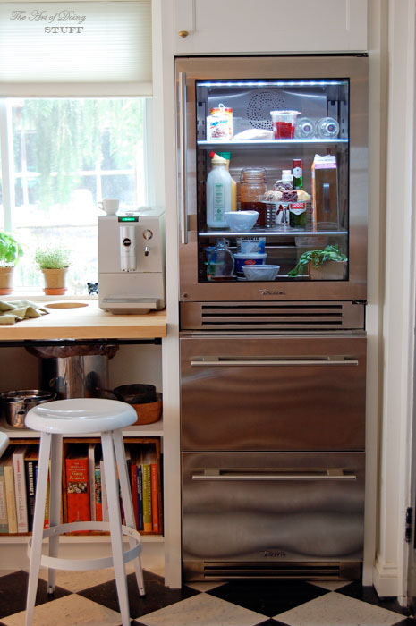 The four corners of the kitchene refrigerator the art of doing true glass front refrigerator save its planetlyrics Choice Image