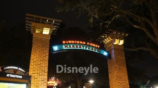 WDW ダウンタウン・ディズニーの入口