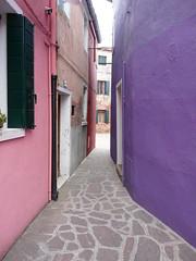 La finestra di fronte - Burano (Venecia)