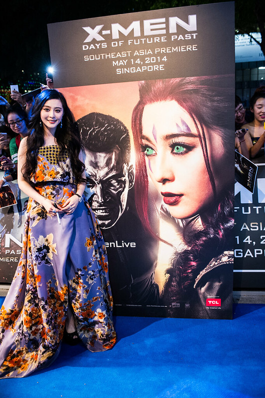Blue Carpet - Fan Bingbing