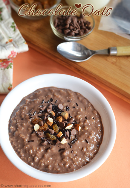 Chocolate Oats Recipe