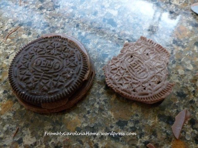 Chocolate Covered Oreos 14
