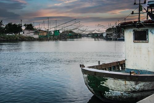 barche pesca comacchio portogaribaldi retidapesca deltadelpò casonidapesca williamprandi